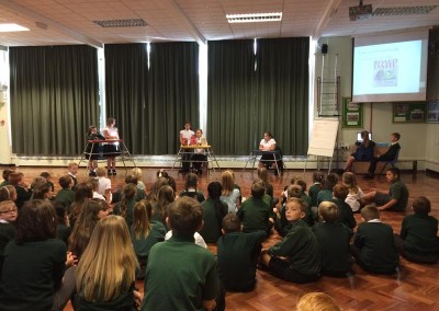 Year 6 Librarians Assembly