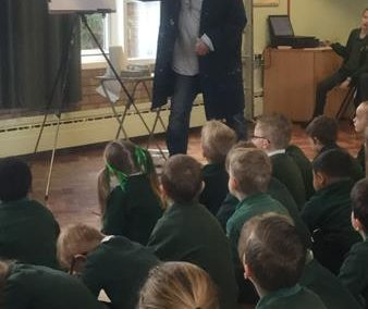 Visit from Portrait Artist Neil Helyard