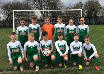 Humberside Primary Schools' Football Finalists